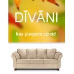 Dīvāni, kas pieejami uzreiz