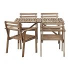Galds un 4 krēsli Askholmen