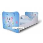 Bērnu gulta Zilonītis II