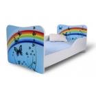 Bērnu gulta Varavīksne