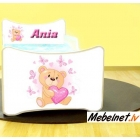 Bērnu gulta Ania 17