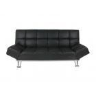 Dīvāns Aina (melns)
