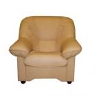 Ādas atpūtas krēsls Bella 1