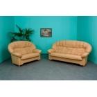 Ādas dīvāns Emmanuel 3+2