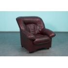 Ādas atpūtas krēsls Spencer 1
