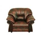 Ādas atpūtas krēsls Elisa 1