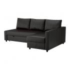 Ādas stūra dīvāns IKEA FRIHETEN