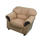 Ādas atpūtas krēsls Regina 1