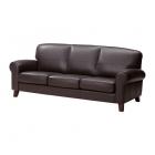 Ādas dīvāns IKEA YSTAD 3-vietīgs