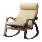 Atpūtas krēsls IKEA Poang krzeso ādas