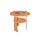 Kafijas galdiņš Oslo MDF