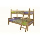 Divstāvu koka gulta ST 120;90 x 200