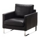 Atpūtas krēsls IKEA Mellby fotel ādas