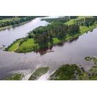 Ierāmēta fotogrāfija – Burkānsala Daugavā