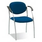 Apmeklētāju krēsls SPLIT CHROME