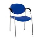 Apmeklētāju / klientu krēsls Split hrom