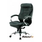 Vadītāju krēsls Malibu PU Chrome Black