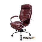 Vadītāju krēsls Malibu PU Chrome Brown
