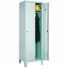 Metāla 2-durvju garderobes skapis SUM 321