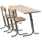 2-vietīgs skolas galds POP2