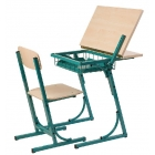 1-vietīgs skolēnu galds POP klapplaud
