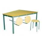 Pusdienu galds Anne bez taburetēm