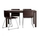 Galds un 4 krēsli IKEA Bjursta/Bernhard