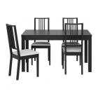 Galds un 4 krēsli IKEA Bjursta/Borje