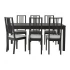 Galds un 6 krēsli IKEA Bjursta/Borje