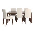 Galds un 6 krēsli IKEA Bjursta/Henriksdal