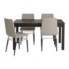 Galds un 4 krēsli IKEA Bjursta/Preben